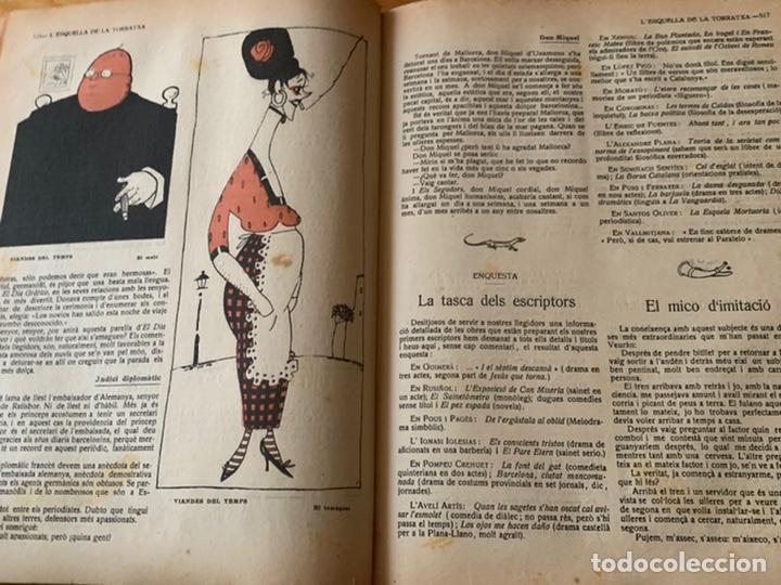 Libros antiguos: L- L'esquella de la Torratxa, 1916. Molt bon estat - Foto 14 - 192347978