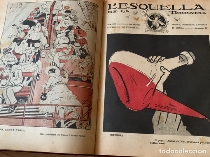Libros antiguos: L- L'esquella de la Torratxa, 1916. Molt bon estat - Foto 16 - 192347978