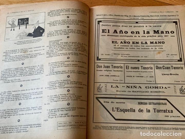 Libros antiguos: L- L'esquella de la Torratxa, 1916. Molt bon estat - Foto 18 - 192347978