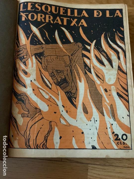 Libros antiguos: L- L'esquella de la Torratxa, 1917 - Foto 3 - 192348125