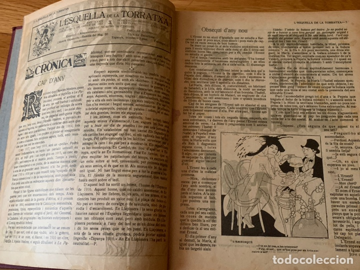 Libros antiguos: L- L'esquella de la Torratxa, 1917 - Foto 4 - 192348125