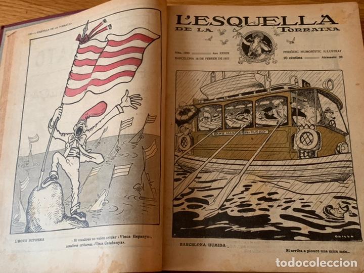 Libros antiguos: L- L'esquella de la Torratxa, 1917 - Foto 6 - 192348125