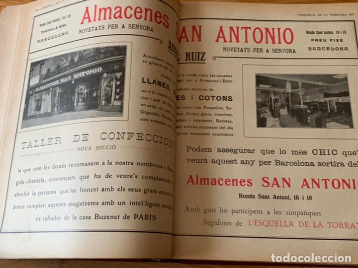 Libros antiguos: L- L'esquella de la Torratxa, 1917 - Foto 12 - 192348125