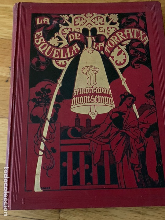 L- L'ESQUELLA DE LA TORRATXA, 1917 (Libros Antiguos, Raros y Curiosos - Bellas artes, ocio y coleccionismo - Otros)