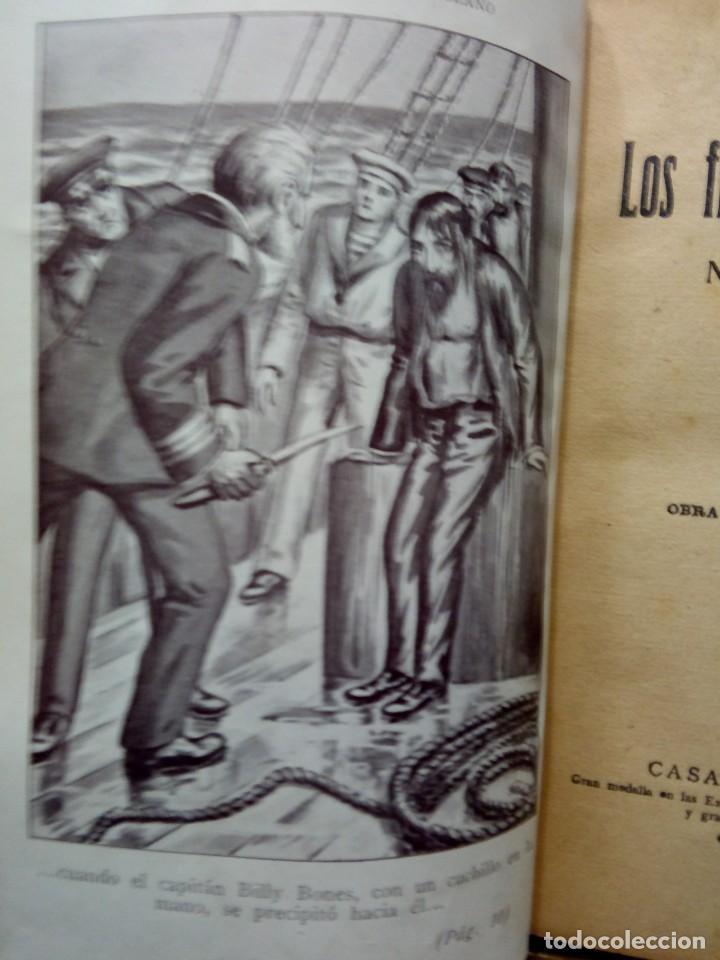 Libros antiguos: LUIGI MOTTA - LOS FLAGELADORES DEL OCÉANO - ILUSTRADO - AVENTURAS - Foto 5 - 192369832
