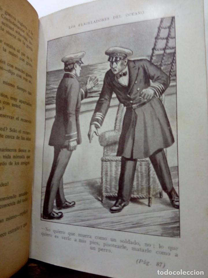Libros antiguos: LUIGI MOTTA - LOS FLAGELADORES DEL OCÉANO - ILUSTRADO - AVENTURAS - Foto 6 - 192369832