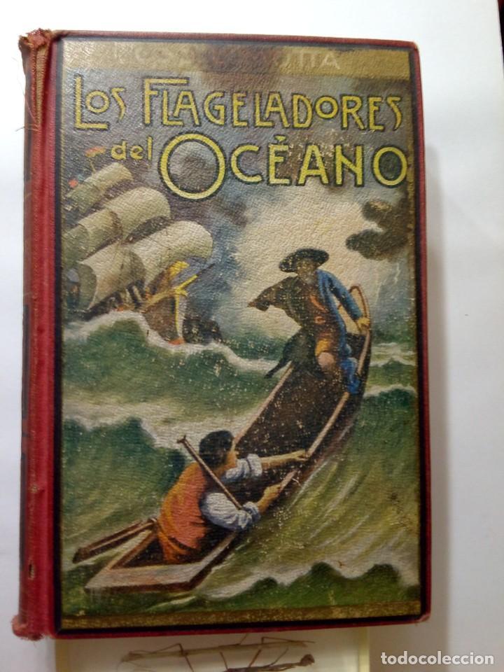 LUIGI MOTTA - LOS FLAGELADORES DEL OCÉANO - ILUSTRADO - AVENTURAS (Libros antiguos (hasta 1936), raros y curiosos - Literatura - Narrativa - Otros)