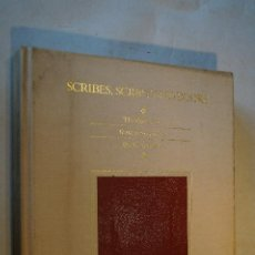 Libros antiguos: SCRIBES, SCRIPT AND BOOKS. THE BOOK ARTD FROM ANTIQUITY TO THE RENAISSANCE. LEILA AVRIN. Lote 192414685