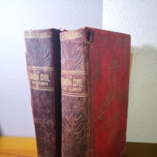 Libros antiguos: (1844-1913) LA GUARDIA CIVIL Y SU TIEMPO, ALFREDO OPISSO, EN DOS TOMOS. Lote 192449935