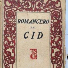 Libros antiguos: ROMANCERO DEL CID. Lote 192466285
