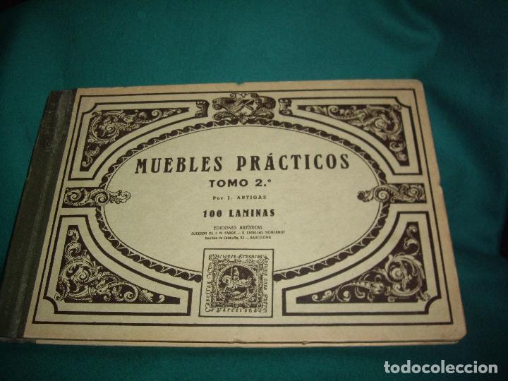 Libros antiguos: CARPINTERIA - NUEVOS MODELOS - TRES TOMOS - Foto 31 - 165194366