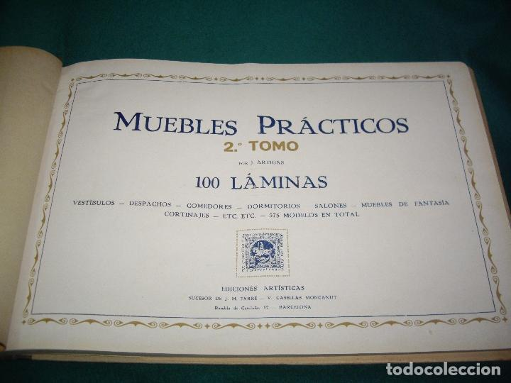 Libros antiguos: CARPINTERIA - NUEVOS MODELOS - TRES TOMOS - Foto 32 - 165194366