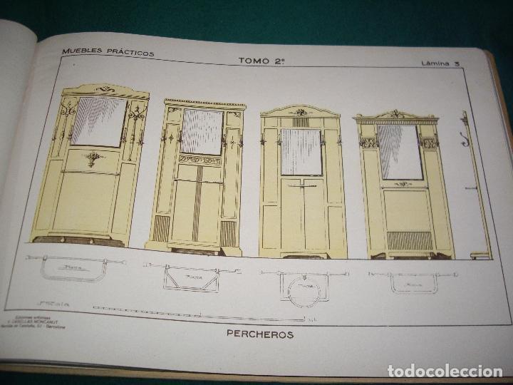 Libros antiguos: CARPINTERIA - NUEVOS MODELOS - TRES TOMOS - Foto 33 - 165194366