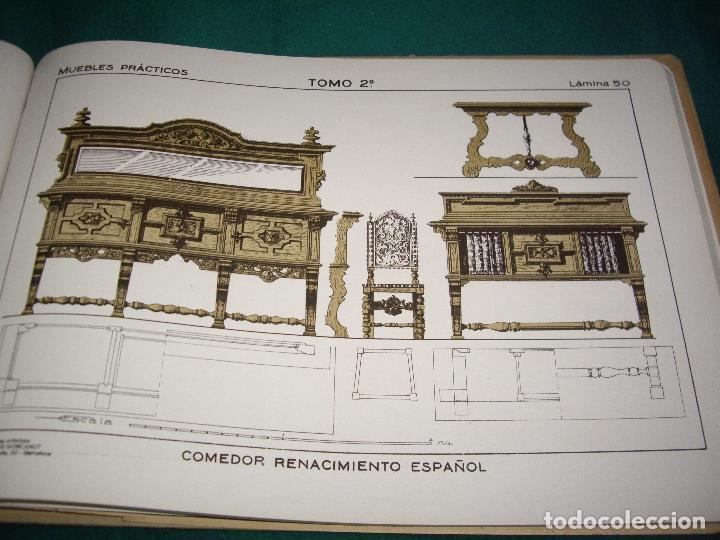 Libros antiguos: CARPINTERIA - NUEVOS MODELOS - TRES TOMOS - Foto 36 - 165194366