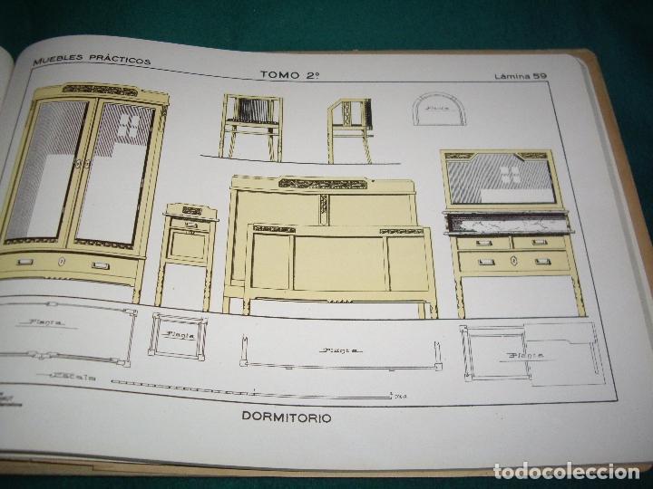 Libros antiguos: CARPINTERIA - NUEVOS MODELOS - TRES TOMOS - Foto 37 - 165194366