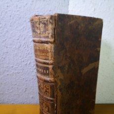 Libros antiguos: 1737 - SERMONES DE ADVIENTO, R. P. BOURDALOE. Lote 192666946