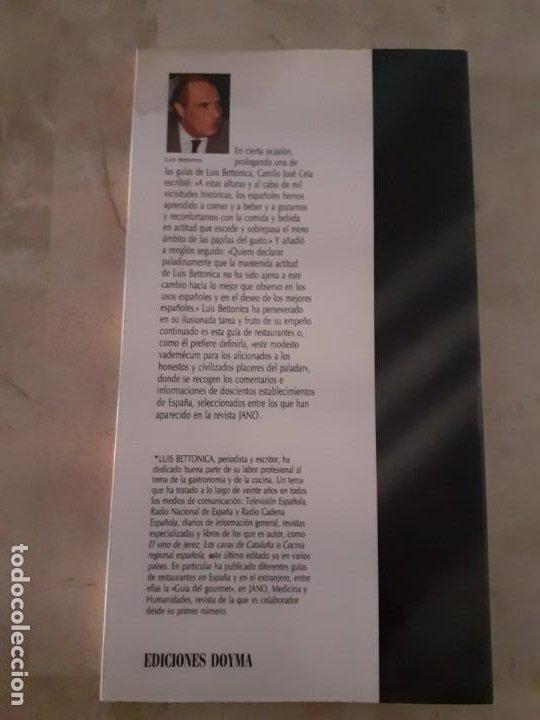 Libros antiguos: libro Restaurantes de España 90 de Luis Bettonica - Foto 4 - 192710902