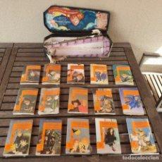 Libros antiguos: COLECCION DE 15 LIBROS EL PEQUEÑO VAMPIRO CON CAJA - ANGELA SOMMER-BODENBURG - ALFAGUARA - INFANTIL. Lote 254139940
