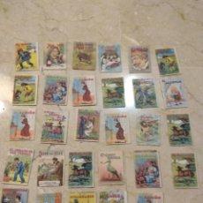 Livres anciens: 31 MINICUENTOS DE CALLEJA, PERFECTOS. Lote 192742951