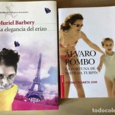 Libros antiguos: LA ELEGANCIA DEL ERIZO. LA FORTUNA DE MATILDA TURPIN. Lote 192747447