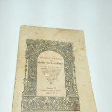 Libros antiguos: BIBLIOTECA VENATORIADE GUTIERREZ DE LA VEGA. DISCURSO SOBRE LA MONTERÍA. GONZALO DE ARGOTE DE MOLINA. Lote 192780122