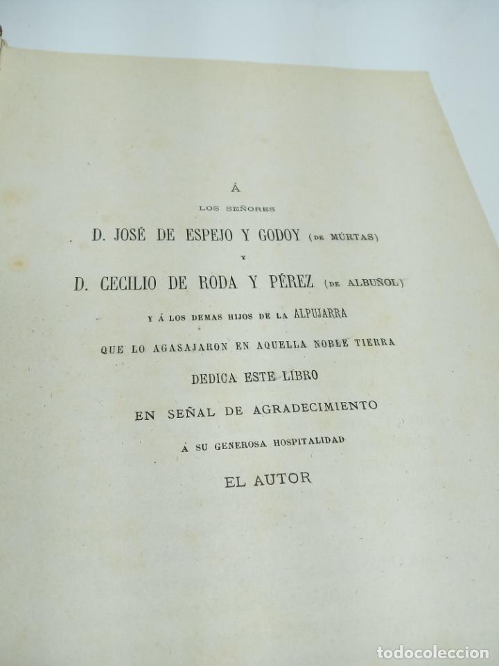 Libros antiguos: La Alpujarra, sesenta leguas a caballo. D. Pedro Antonio de Alarcón. Madrid. 1874. - Foto 4 - 192787422