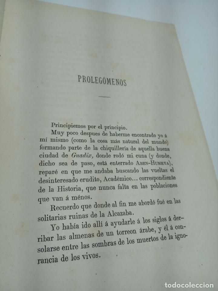 Libros antiguos: La Alpujarra, sesenta leguas a caballo. D. Pedro Antonio de Alarcón. Madrid. 1874. - Foto 5 - 192787422
