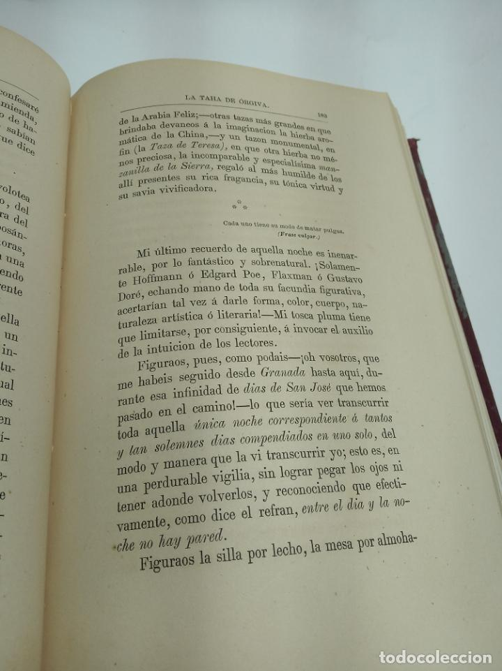 Libros antiguos: La Alpujarra, sesenta leguas a caballo. D. Pedro Antonio de Alarcón. Madrid. 1874. - Foto 7 - 192787422