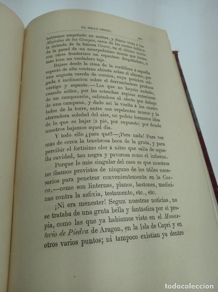 Libros antiguos: La Alpujarra, sesenta leguas a caballo. D. Pedro Antonio de Alarcón. Madrid. 1874. - Foto 8 - 192787422