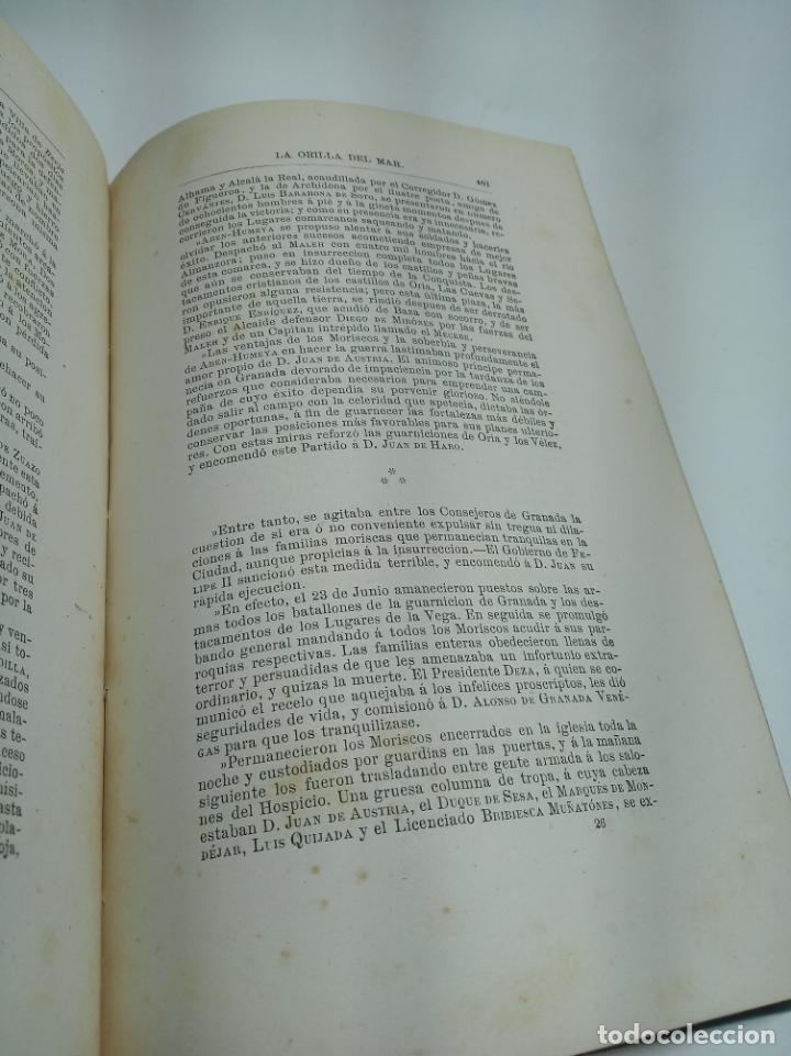 Libros antiguos: La Alpujarra, sesenta leguas a caballo. D. Pedro Antonio de Alarcón. Madrid. 1874. - Foto 9 - 192787422