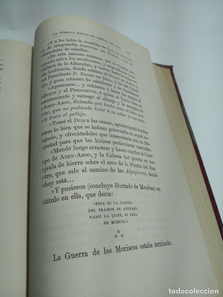 Libros antiguos: La Alpujarra, sesenta leguas a caballo. D. Pedro Antonio de Alarcón. Madrid. 1874. - Foto 10 - 192787422