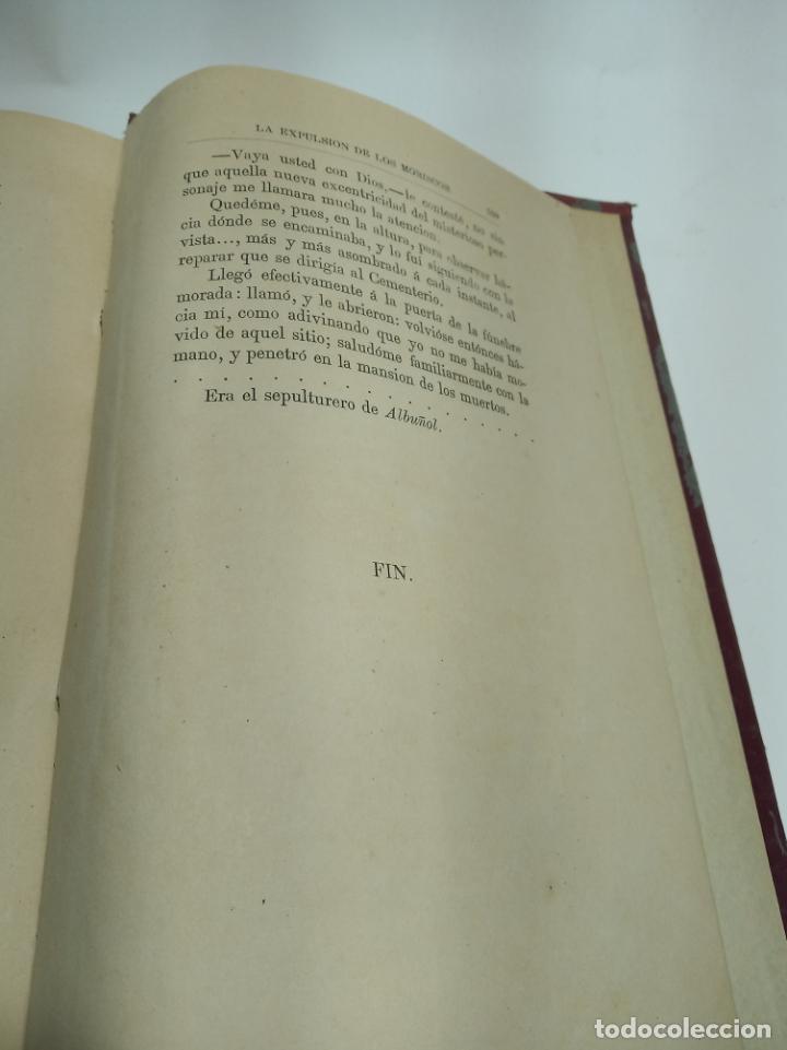 Libros antiguos: La Alpujarra, sesenta leguas a caballo. D. Pedro Antonio de Alarcón. Madrid. 1874. - Foto 11 - 192787422
