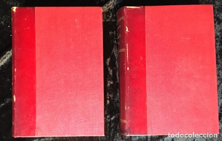Libros antiguos: LA ARAÑA NEGRA - VICENTE BLASCO IBÁÑEZ - 1892 - 2 TOMOS - CROMOLITOGRAFÍAS - 1ª ED. SEIX EDITOR - Foto 3 - 192836916
