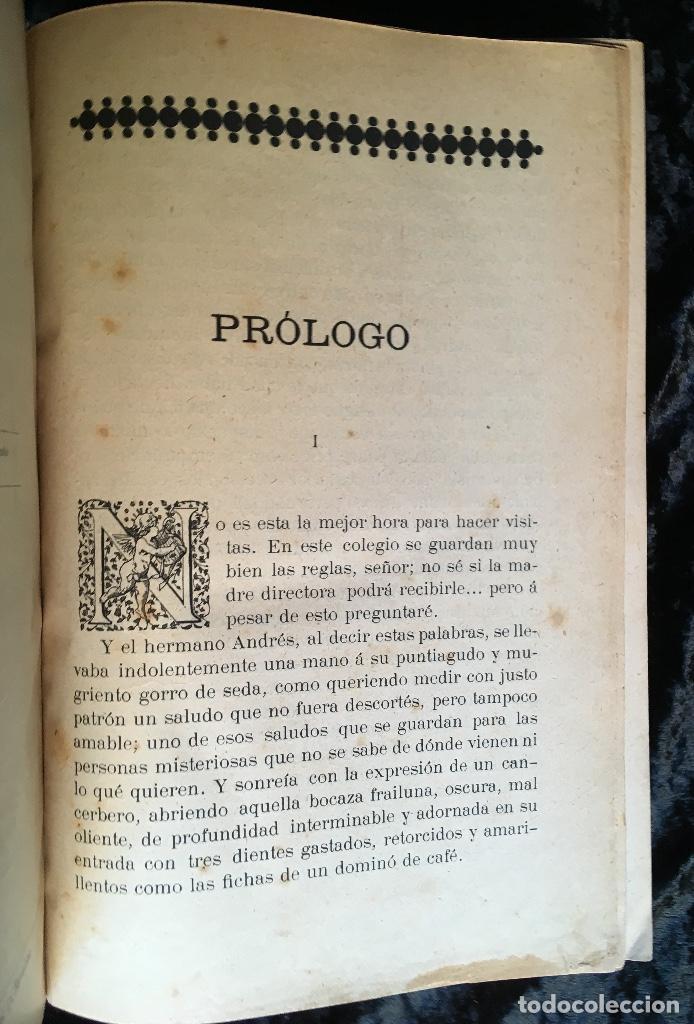 Libros antiguos: LA ARAÑA NEGRA - VICENTE BLASCO IBÁÑEZ - 1892 - 2 TOMOS - CROMOLITOGRAFÍAS - 1ª ED. SEIX EDITOR - Foto 5 - 192836916