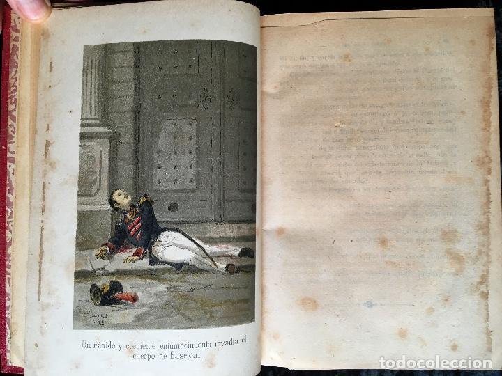 Libros antiguos: LA ARAÑA NEGRA - VICENTE BLASCO IBÁÑEZ - 1892 - 2 TOMOS - CROMOLITOGRAFÍAS - 1ª ED. SEIX EDITOR - Foto 8 - 192836916