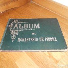 Livros antigos: ALBUM MONASTERIO DE PIEDRA HEREDIA, RAFAEL Y JAÉN, R. 1900, MADRID, HERNANDO Y CÍA. MUY BUEN ESTADO. Lote 192958445