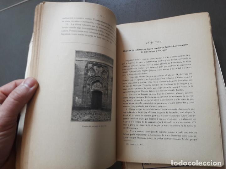 Libros antiguos: HISTORIA DE NTRA. SRA. DE LA FUENCISLA DE SEGOVIA. Ildefonso Rodriguez. Imp. del Horno, 1915 RARO - Foto 4 - 192959675