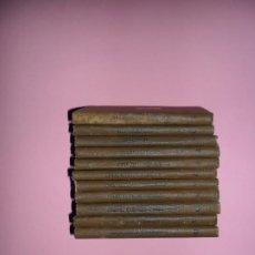 Libros antiguos: PEQUEÑA ENCICLOPEDIA DE AGRICULTURA, 12 VOLÚMENES, FALTA EL NÚMERO 1, ED. BAILLY Y BALLIERE, S/F. Lote 193020952