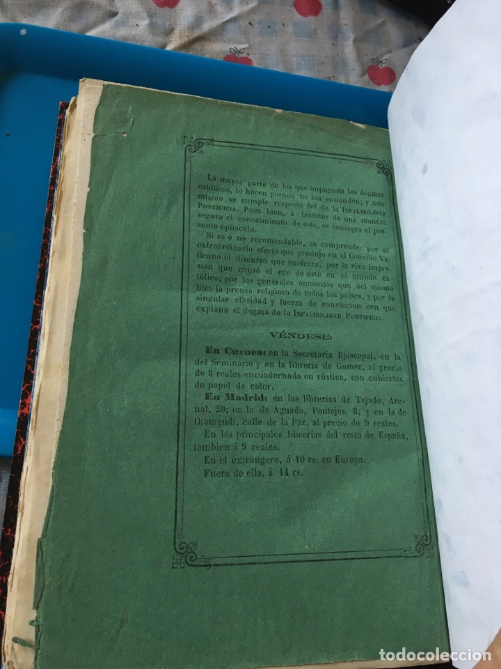 Libros antiguos: Cuenca 1875 - Foto 3 - 193204902
