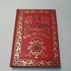 Libros antiguos: LIBRO LA NATURE, REVISTA DE CIENCIAS, 1904, PRECIOSA ENCUADERNACION. Lote 193210763