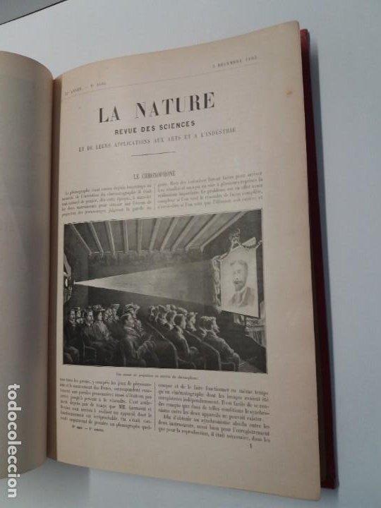 Libros antiguos: LIBRO LA NATURE, REVISTA DE CIENCIAS, 1904, PRECIOSA ENCUADERNACION - Foto 8 - 193210763
