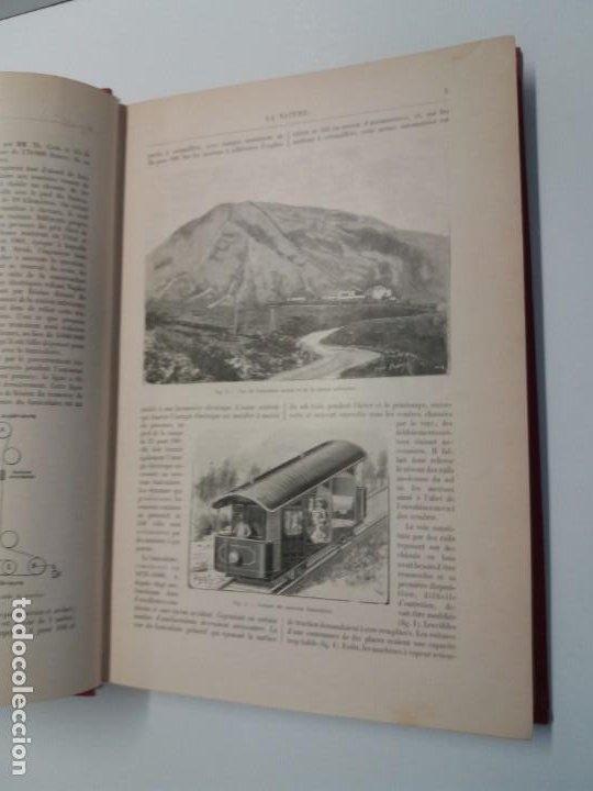 Libros antiguos: LIBRO LA NATURE, REVISTA DE CIENCIAS, 1904, PRECIOSA ENCUADERNACION - Foto 9 - 193210763