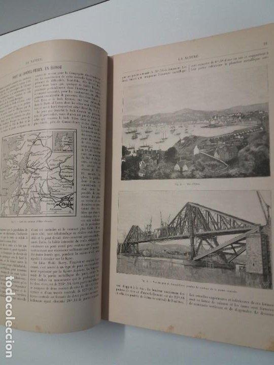 Libros antiguos: LIBRO LA NATURE, REVISTA DE CIENCIAS, 1904, PRECIOSA ENCUADERNACION - Foto 11 - 193210763