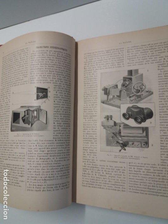 Libros antiguos: LIBRO LA NATURE, REVISTA DE CIENCIAS, 1904, PRECIOSA ENCUADERNACION - Foto 12 - 193210763