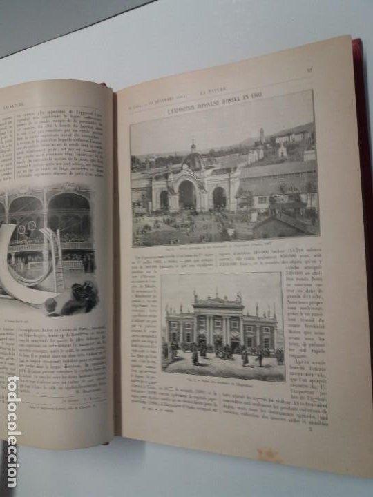 Libros antiguos: LIBRO LA NATURE, REVISTA DE CIENCIAS, 1904, PRECIOSA ENCUADERNACION - Foto 13 - 193210763