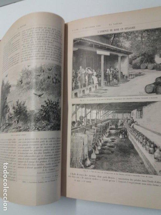 Libros antiguos: LIBRO LA NATURE, REVISTA DE CIENCIAS, 1904, PRECIOSA ENCUADERNACION - Foto 14 - 193210763