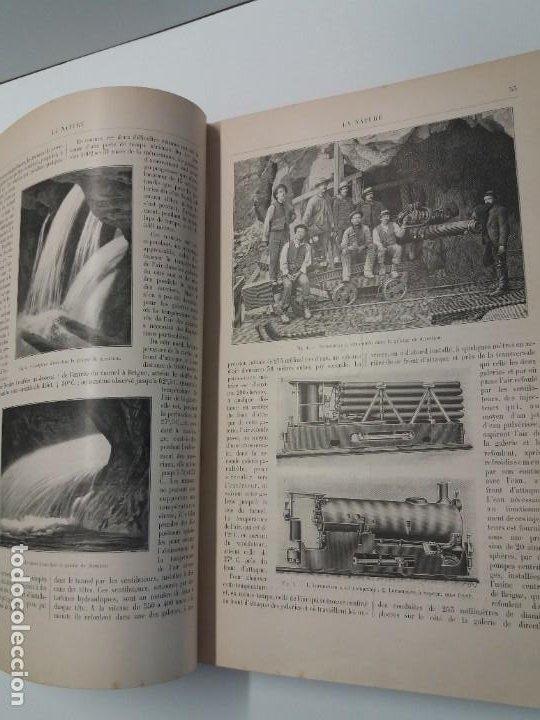 Libros antiguos: LIBRO LA NATURE, REVISTA DE CIENCIAS, 1904, PRECIOSA ENCUADERNACION - Foto 15 - 193210763