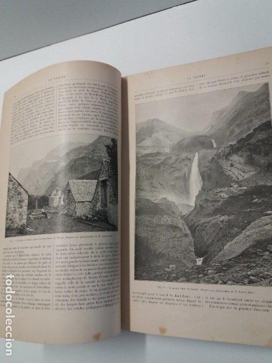 Libros antiguos: LIBRO LA NATURE, REVISTA DE CIENCIAS, 1904, PRECIOSA ENCUADERNACION - Foto 16 - 193210763