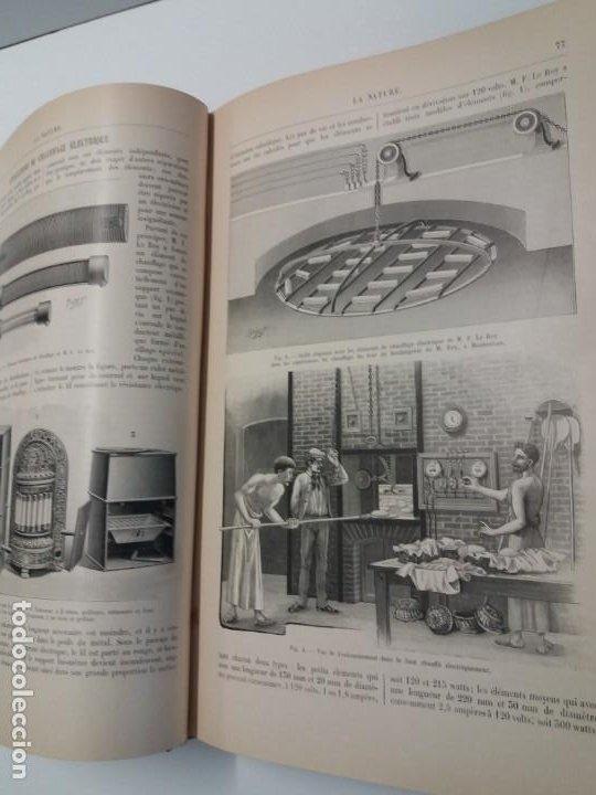 Libros antiguos: LIBRO LA NATURE, REVISTA DE CIENCIAS, 1904, PRECIOSA ENCUADERNACION - Foto 18 - 193210763