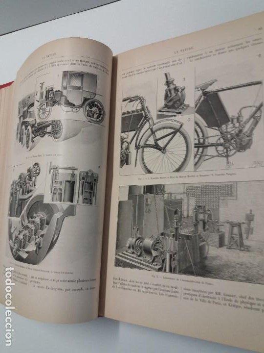 Libros antiguos: LIBRO LA NATURE, REVISTA DE CIENCIAS, 1904, PRECIOSA ENCUADERNACION - Foto 19 - 193210763